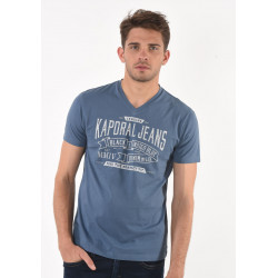 T-shirt manches courtes homme Kaporal MAKER STEE
