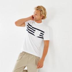T-shirt manches courtes homme Eden Park  STRIPE BC