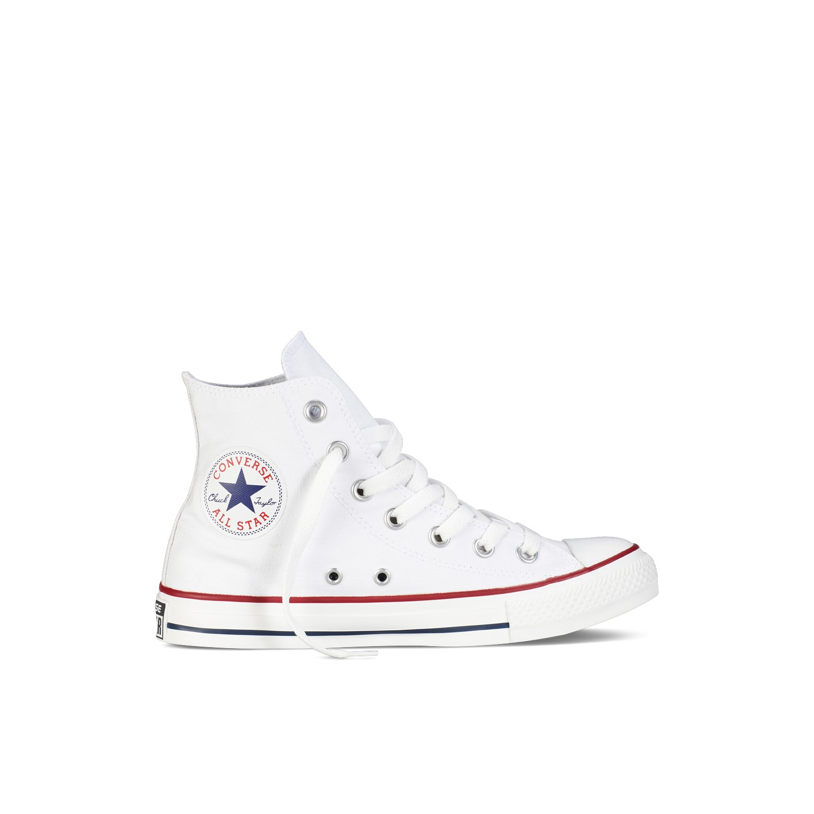 chaussures converse all star toile haut blanc habiz. Black Bedroom Furniture Sets. Home Design Ideas