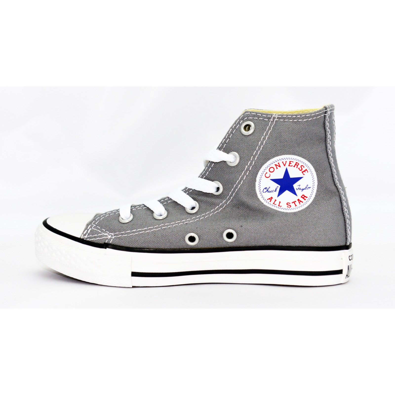 Chaussures Converse All Star TOIL.HAUTE GRIS - Habiz