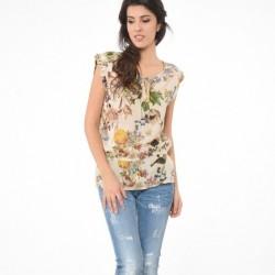 T-shirt manches courtes femme Kaporal NOXIC