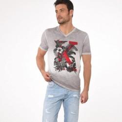 T-shirt manches courtes homme Kaporal SILK